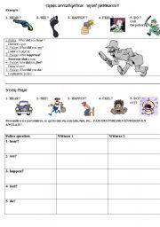English Worksheet Crime Investigation Detective Story 3 Detective Story Detective Reading Worksheets