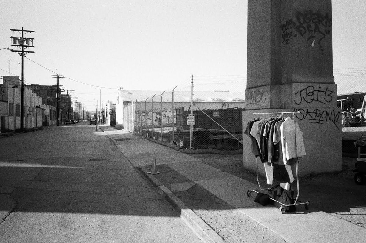 THE YARD SALE. Behind the scenes on our summer collection