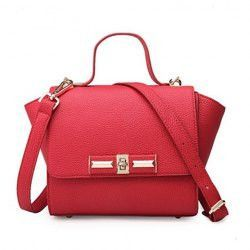 43c26672db4 Concise Hasp and Solid Color Design Women's Tote Bag | Products ...