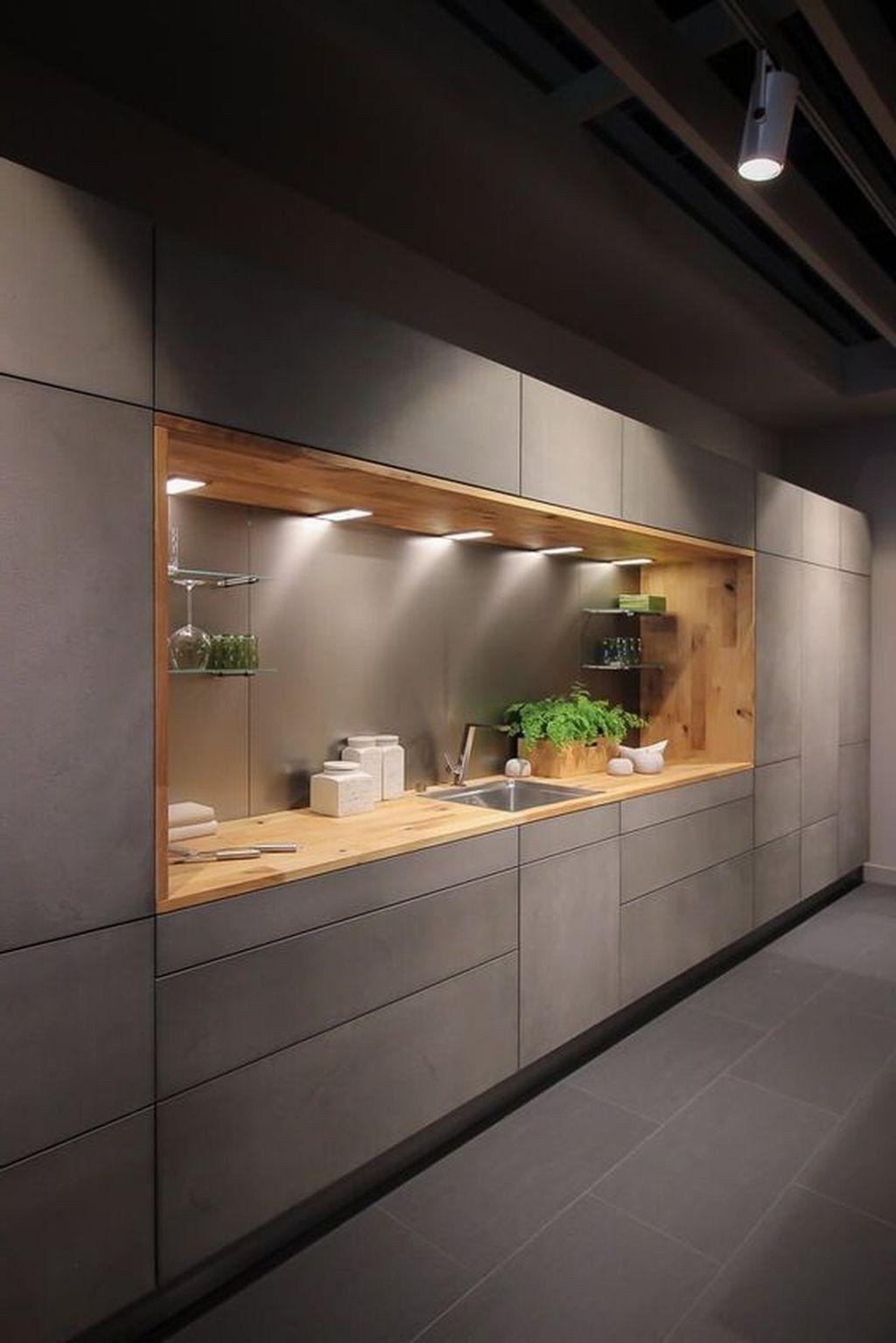 Idées De Design De Cuisine De Luxe Modernes Inspirantes Cuisine Moderne Cuisine Design Moderne Cuisines Design
