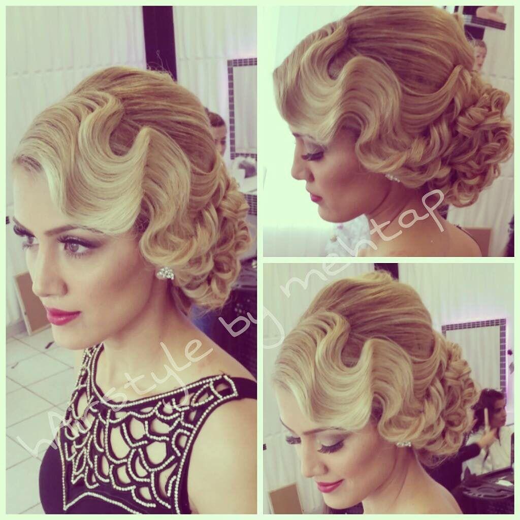 Wasserwelle mottowoche pinterest hair hair styles and wedding