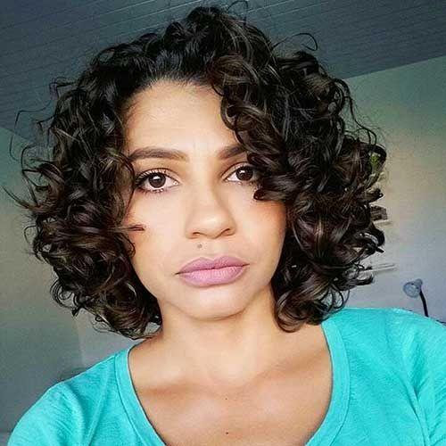 30+ coole kurze natürlich lockige Frisuren – einfache Frisur,  #coole #CurlyHairstylesforscho…
