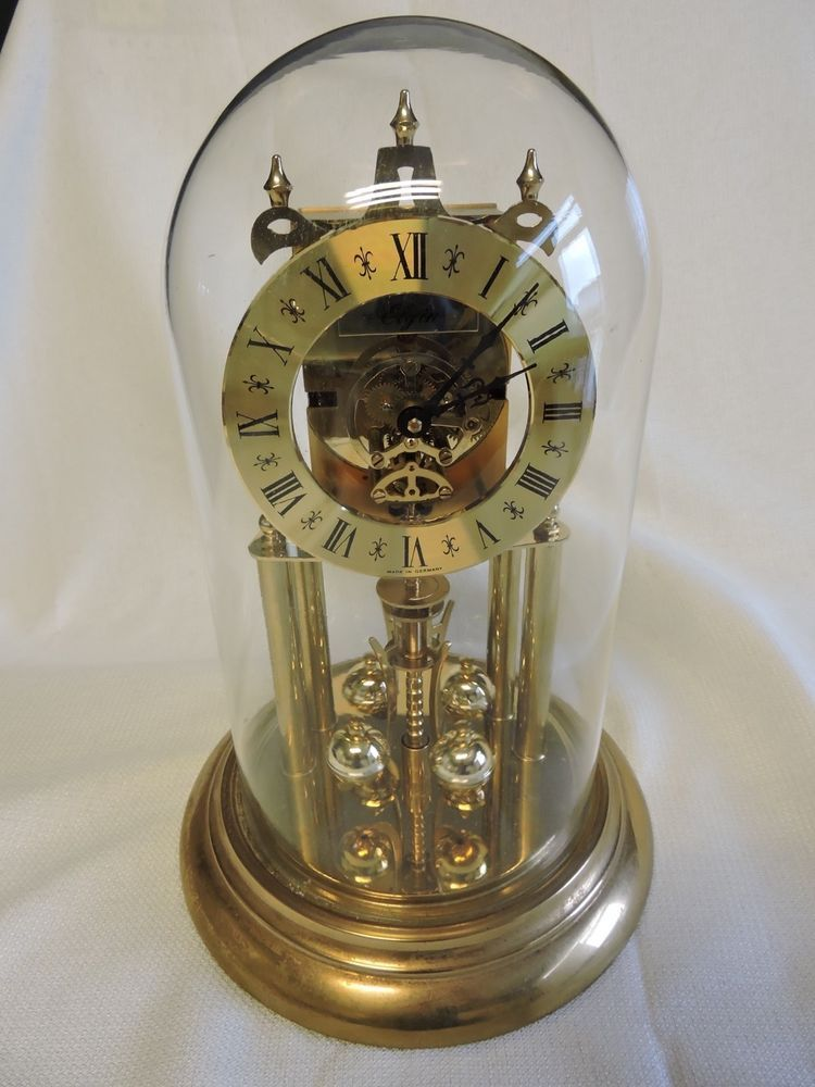 elgin haller 400 day anniversary clock works great no key demo video