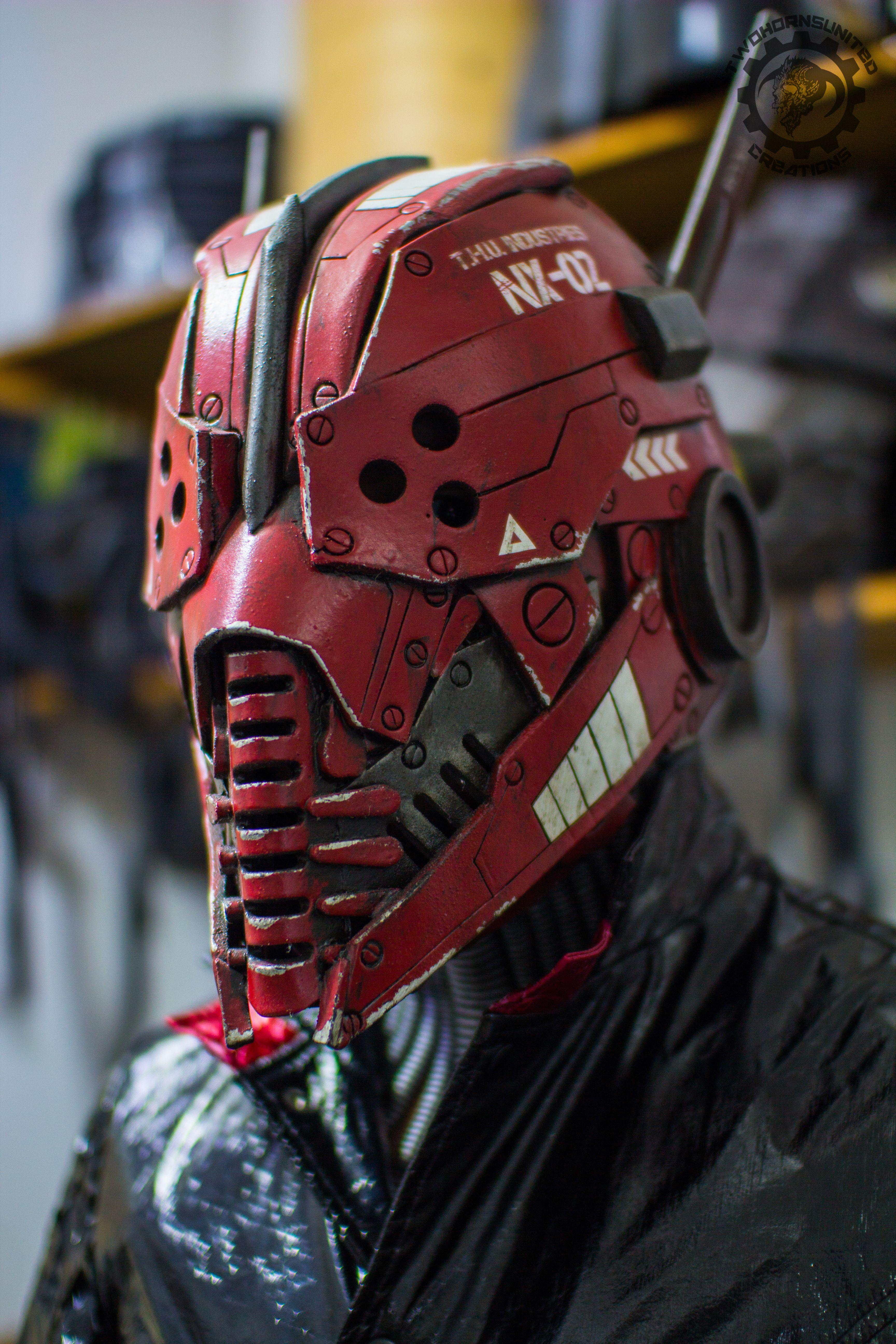 Xenogeist ''Terra'' Variant cyberpunk LED mask…