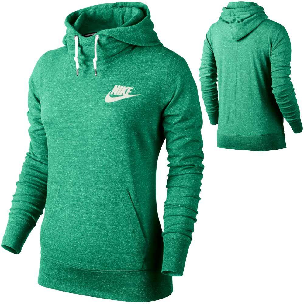 Sudadera Mujer Gym Vintage Hoody Verde En Calzado Y Textil Mujer Textil Sudaderas De La Marca Nike En Forum Sport Sudaderas Ropa Deportiva Ropa Gym