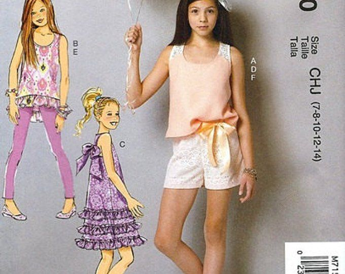 d46c28ae50f GIRLS CLOTHES PATTERN! Make Dress - Sundress   Summer Clothes ...