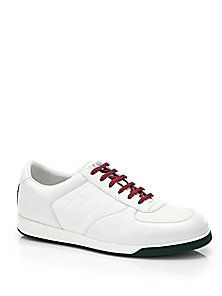 ec3d968f5 Saks Fifth Avenue Mobile. Gucci - 1984 Leather Anniversary Sneakers If you  don't buy them then you just don't understand :-)