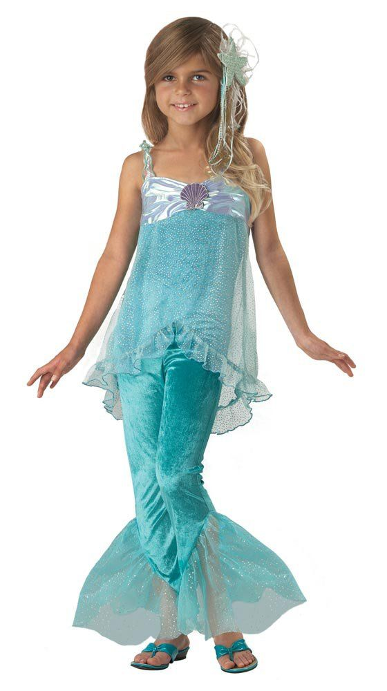 577f39139e mermaid costumes | Home >> Mermaid Costumes >> Kids Mischievous Mermaid  Costume