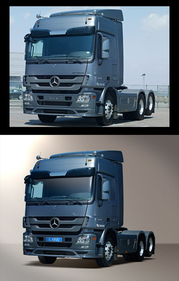 Truck Photo Retouch Photography / Graphic / Design / retouch