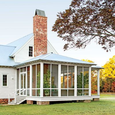 Dream home renovation southern living alabama and porch for Southern dream homes