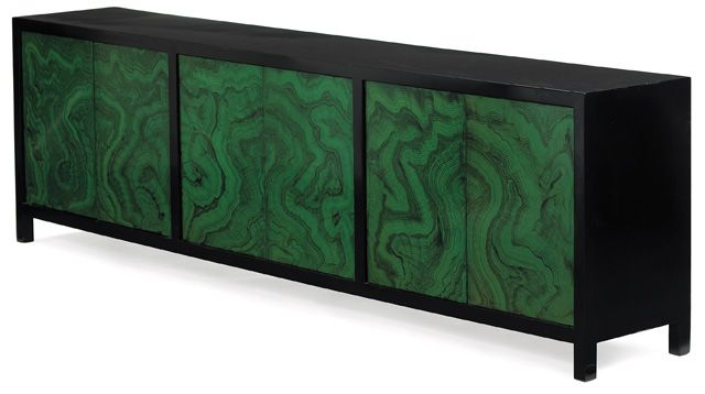 Best 1960S Modern Cabinet Large Form With Six Doors With Black 400 x 300