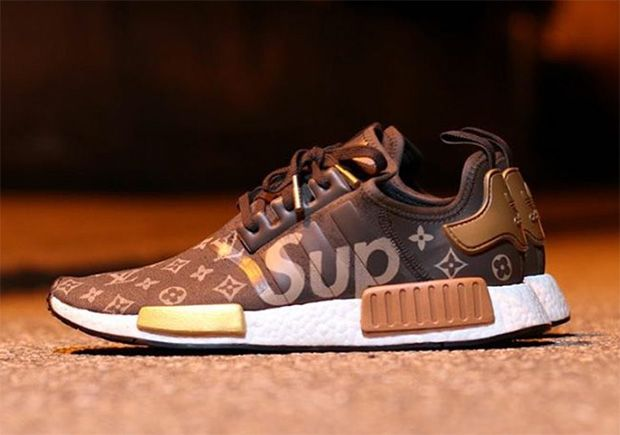 Supreme Louis Vuitton adidas NMD Custom | SneakerNews.com