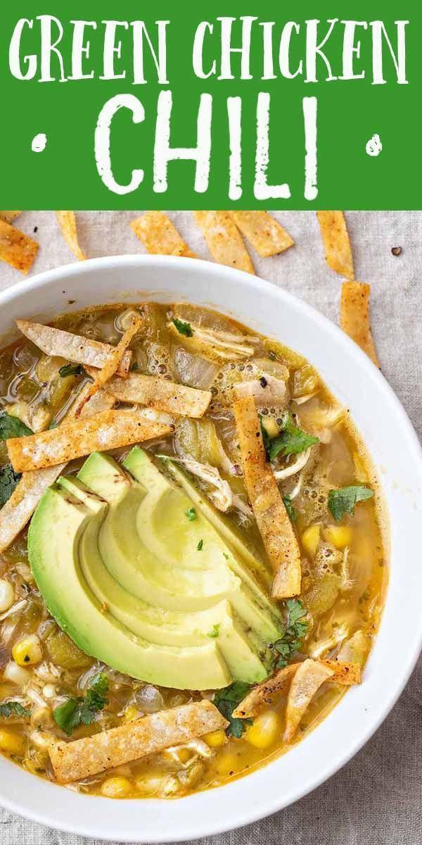 Easy Green Chicken Chili Recipe | SimplyRecipes.co