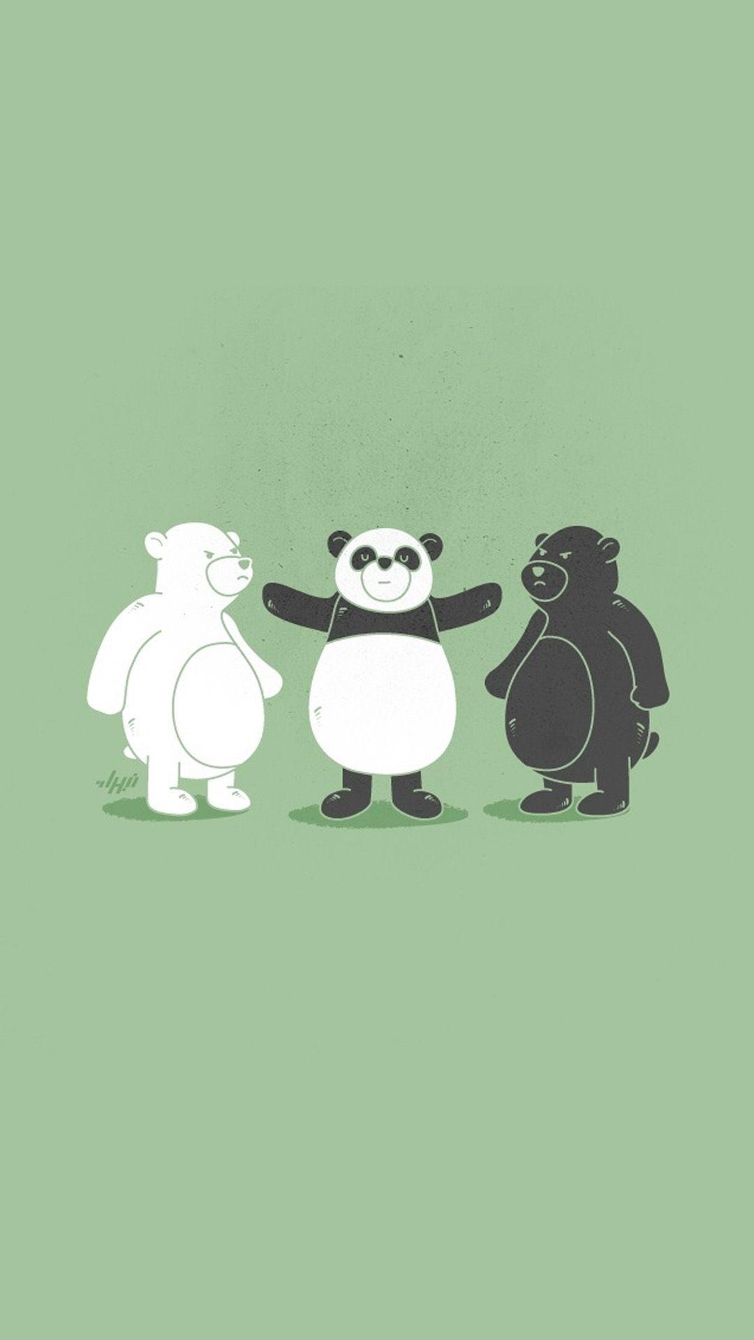 Cute Funny Animals Wallpapers Cartoon Wallpaper Funny Illustration Iphone Wallpaper