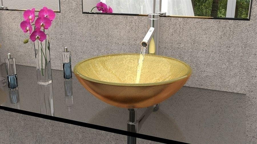 Glass Pedestal Sink Glass Sink Bowl Glass Sinks Bathroom