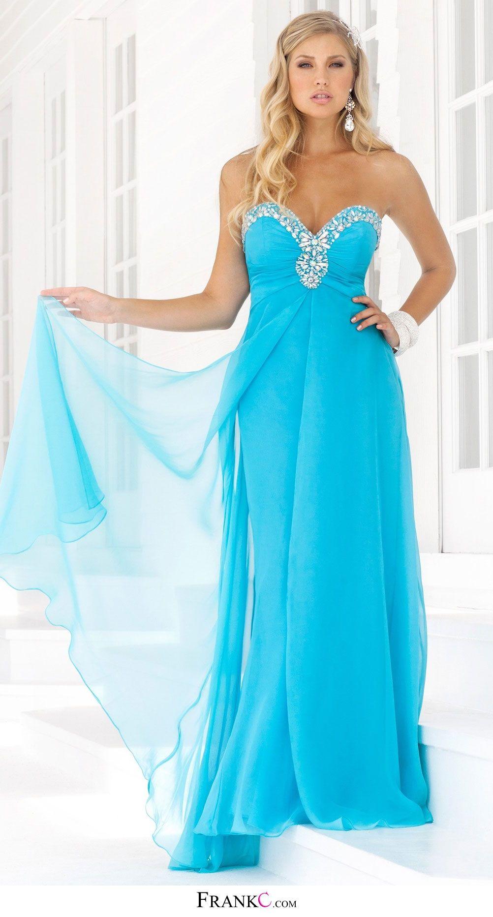 blue prom dress,long prom dress,chiffon prom dress | cute dresses ...