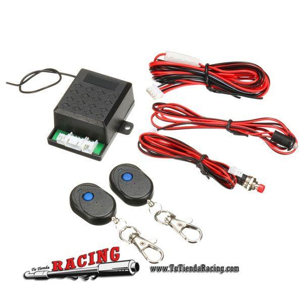 Kit Alarma Antirrobo Por Movimiento Para Coche Camion 12v Con 2