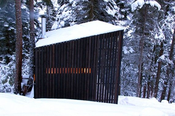 Signal Shed—a 130-square-foot modern mountain outpost.