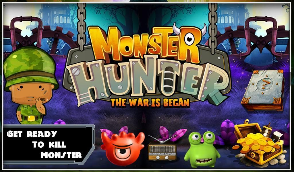 Build your own amazing and scary monster game for android