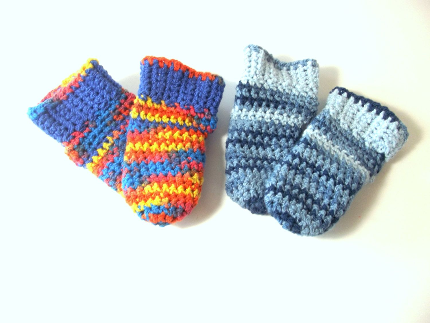 Newborn Clothing Socks – Crochet Boot Socks - Comfy Socks For Newborn - Infant Socks by SewDarnComfy on Etsy