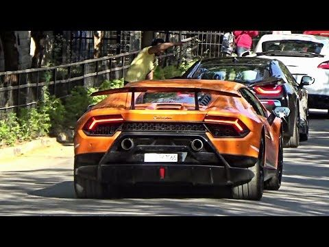 40+ Supercars Leaving Car Meet   SUPERCARS IN INDIA (Hyderabad)   WATCH  VIDEO