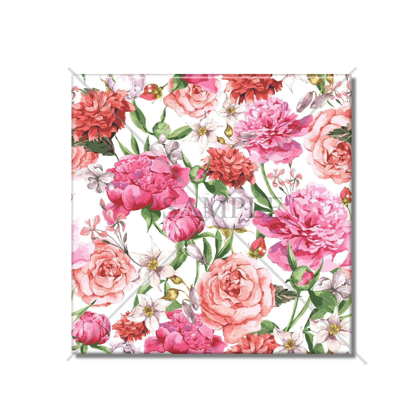 Ceramic Tile Decorative Floral Design Creamic Wall Tile
