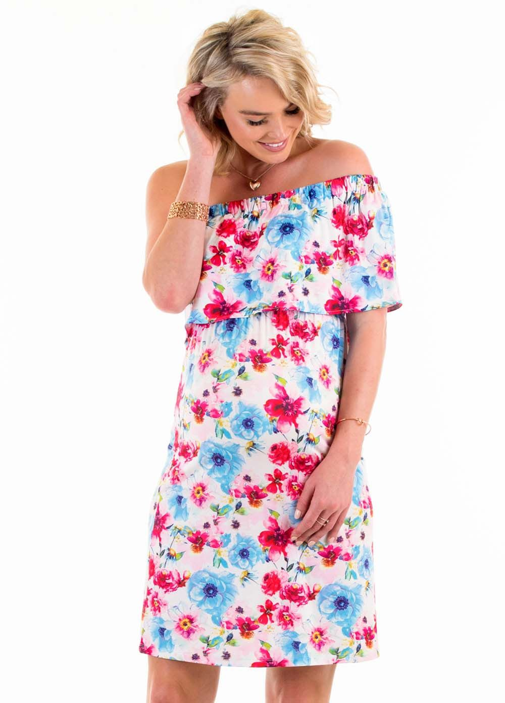 12291c0bef3f8 Floressa - Clara Nursing Dress | Clothes | Fashion, Nursing dress ...