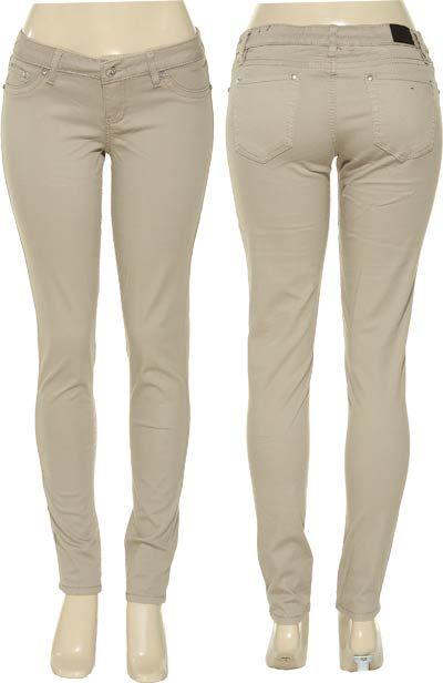 bigchipz.com khaki skinny jeans for juniors (04) #skinnyjeans ...