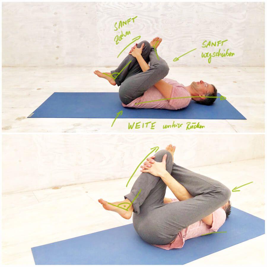 Rückenschmerzen unterer Rücken - 4 Yoga-Übungen die dir sicher helfen #pilatesworkoutvideos