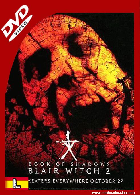 El Proyecto De La Bruja De Blair 2 2000 Dvdrip Latino Libro De Las Sombras El Libro De Las Sombras Horror Movie Posters
