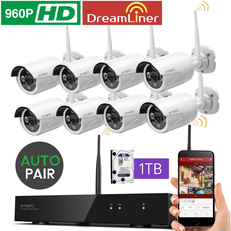 Dream Liner WiFi Booster] xmartO WOS1388-1TB 8 Channel 960p HD ...