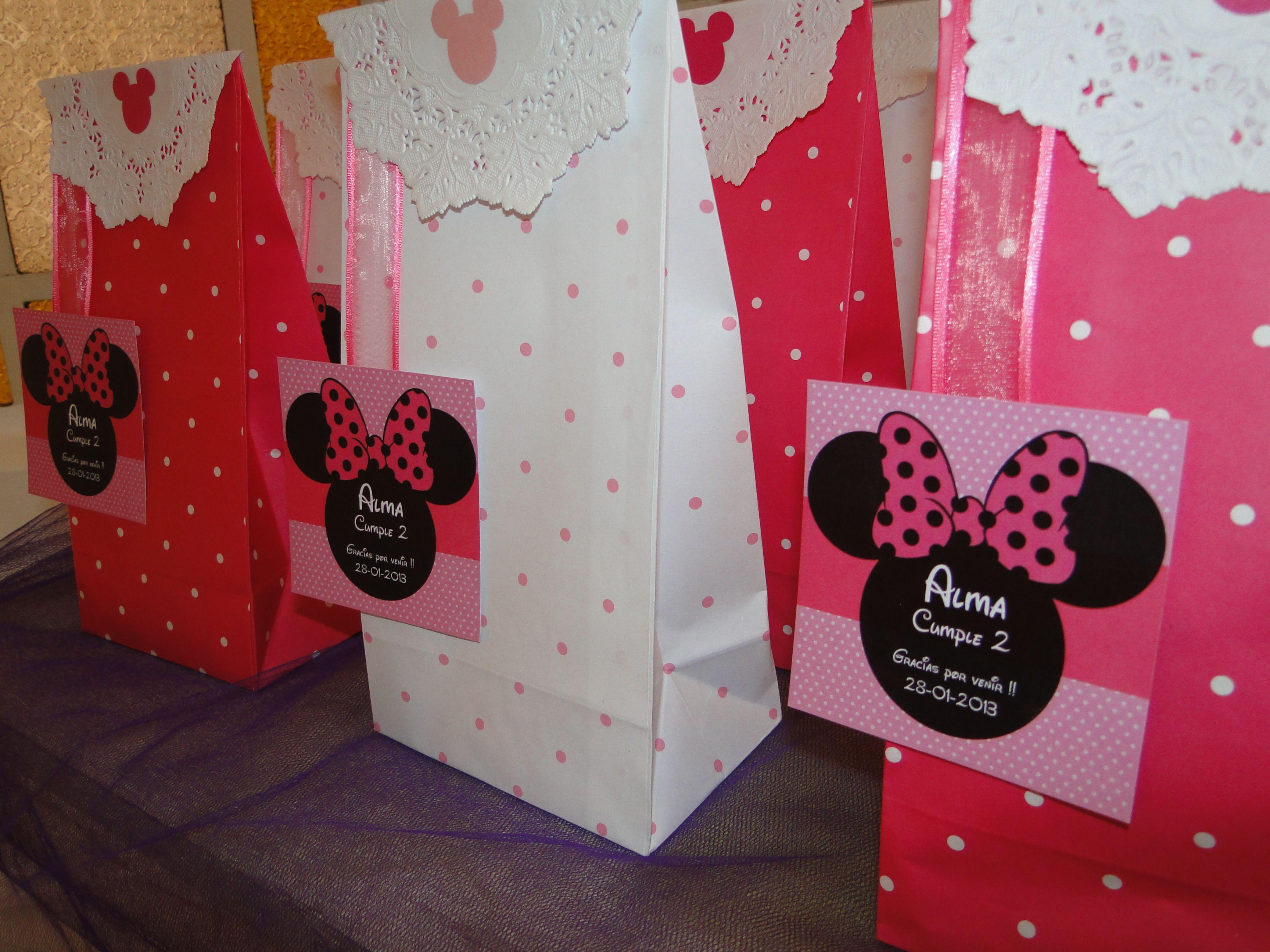 Un cumple de minnie muy rosa para una princesa de dos for Decoracion de princesas