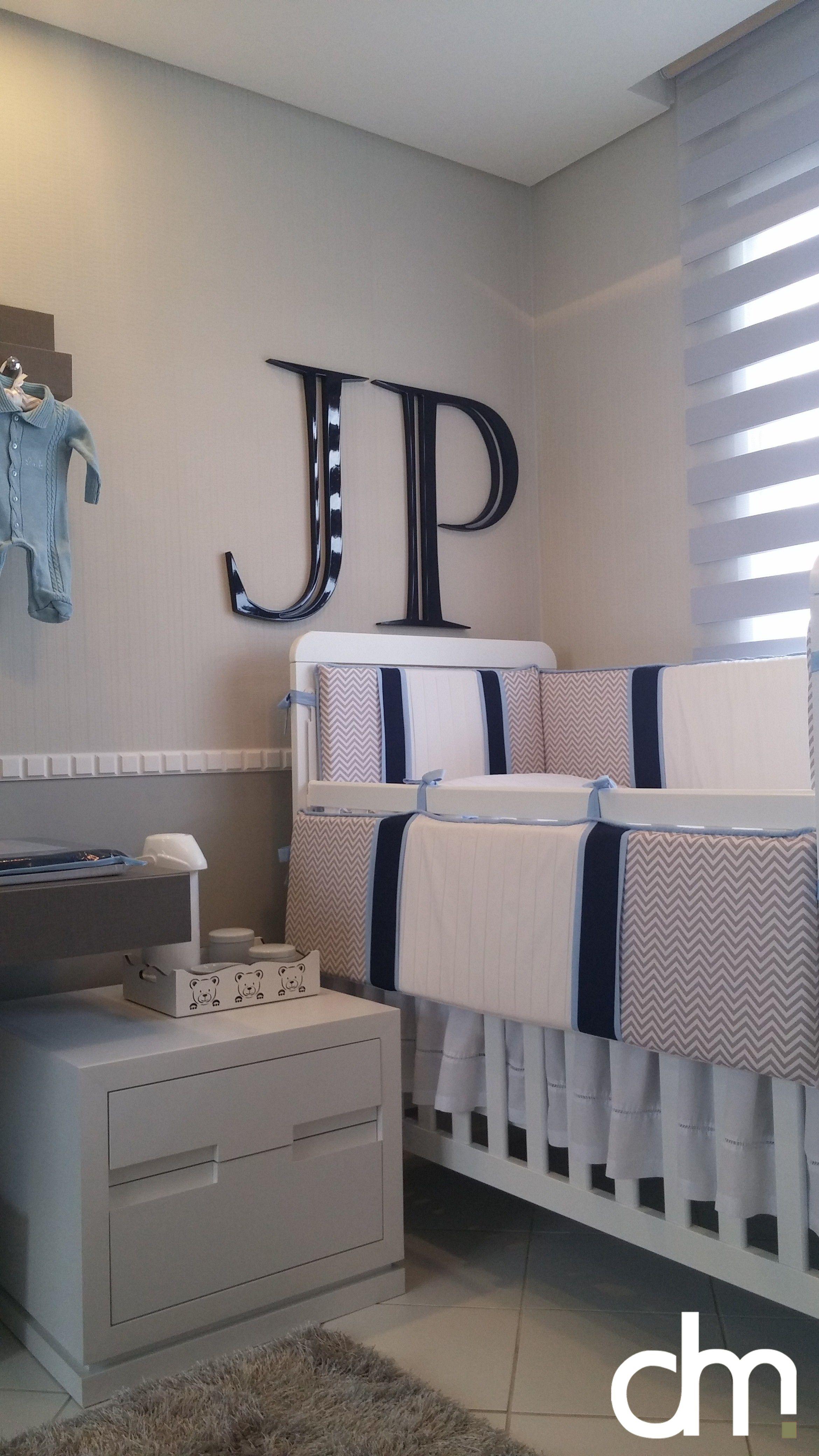 Decora O De Quarto De Beb Em Tons De Azul Fendi E Branco  ~ Quarto Azul Marinho E Branco E Montar O Quarto Do Bebe