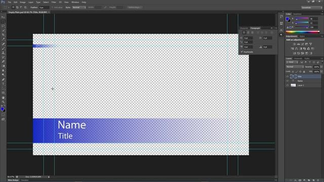 Creating Lower Thirds In Photoshop From A Spreadsheet By Eric Addison This Brief Tutorial Will Show You How To Quickly Create Lot Of Third Files