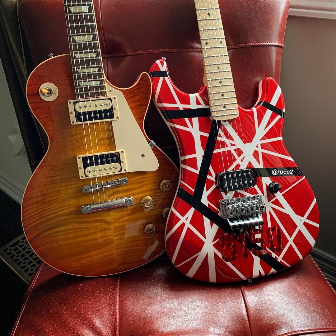 Rpcc2 On Instagram Kramer 1984 Evh Eddie Vanhalen 5150 Guitar Gibson Lespaul Gibsonlespaul Guitarphotography Gear To In 2020 Van Halen Guitar Instagram