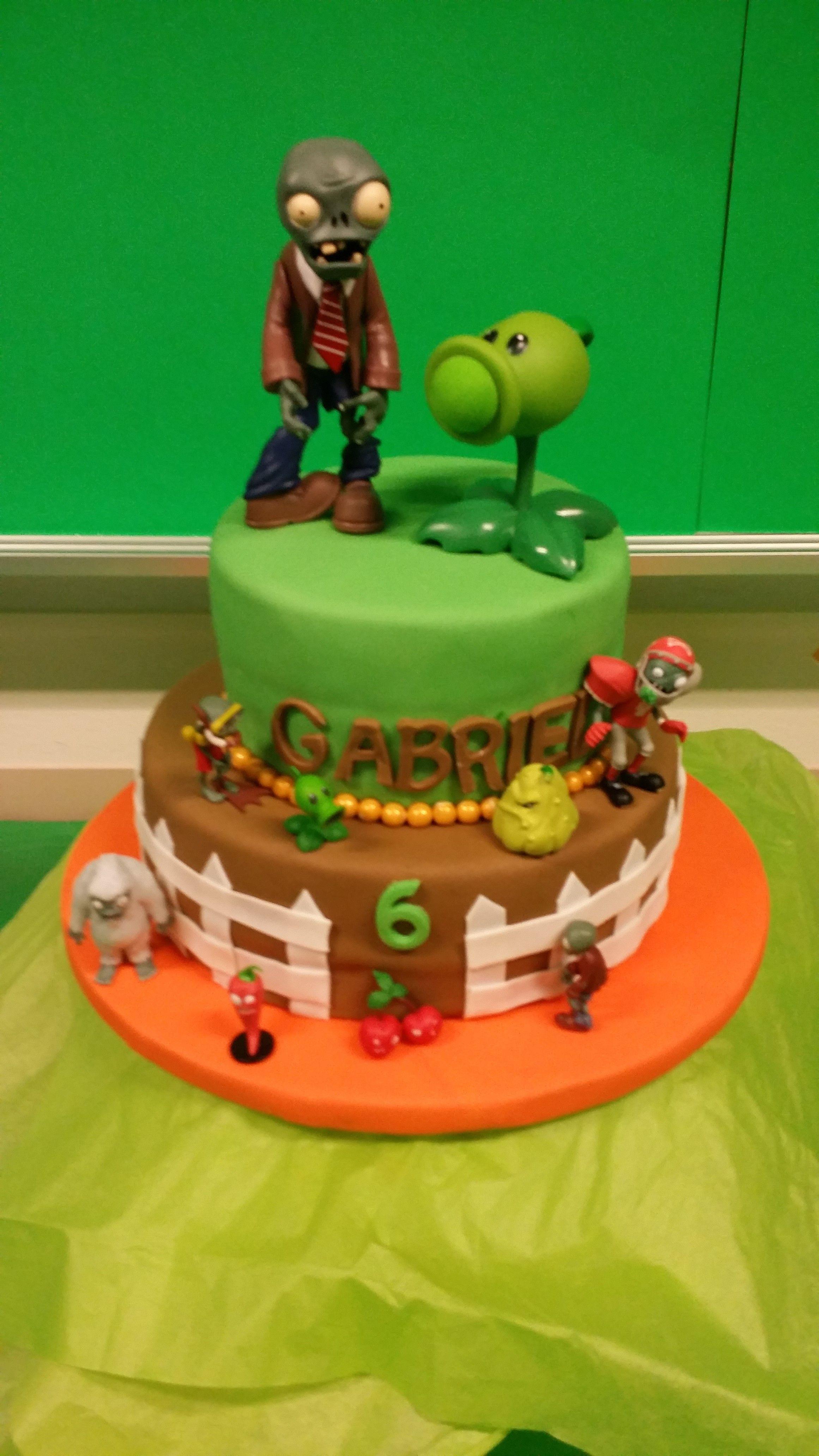 Plants vs Zombies cake Pinteres