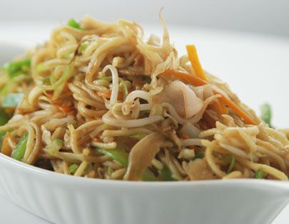 Perfect Hakka Noodles By Sanjeev Kapoor Note I Almost Always Add Chicken And Either Shitake