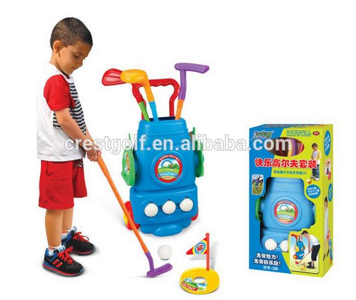 2016 New Plastic Mini Golf Club Set For Children Kids Indoor Outdoor  Backyard Sport Game Golf