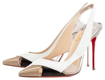 Christian Louboutin Air Chance White, Tan And Black Pumps. Get the must-have pumps of this season! These Christian Louboutin Air Chance White, Tan And Black Pumps are a top 10 member favorite on Tradesy. Save on yours before they're sold out!