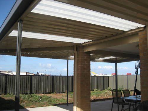 New Premium Colourbond Verandah Patio Pergola Carport Roofing 5 4mx4 8mx2 4m Ebay Pergola Pergola Carport Carport