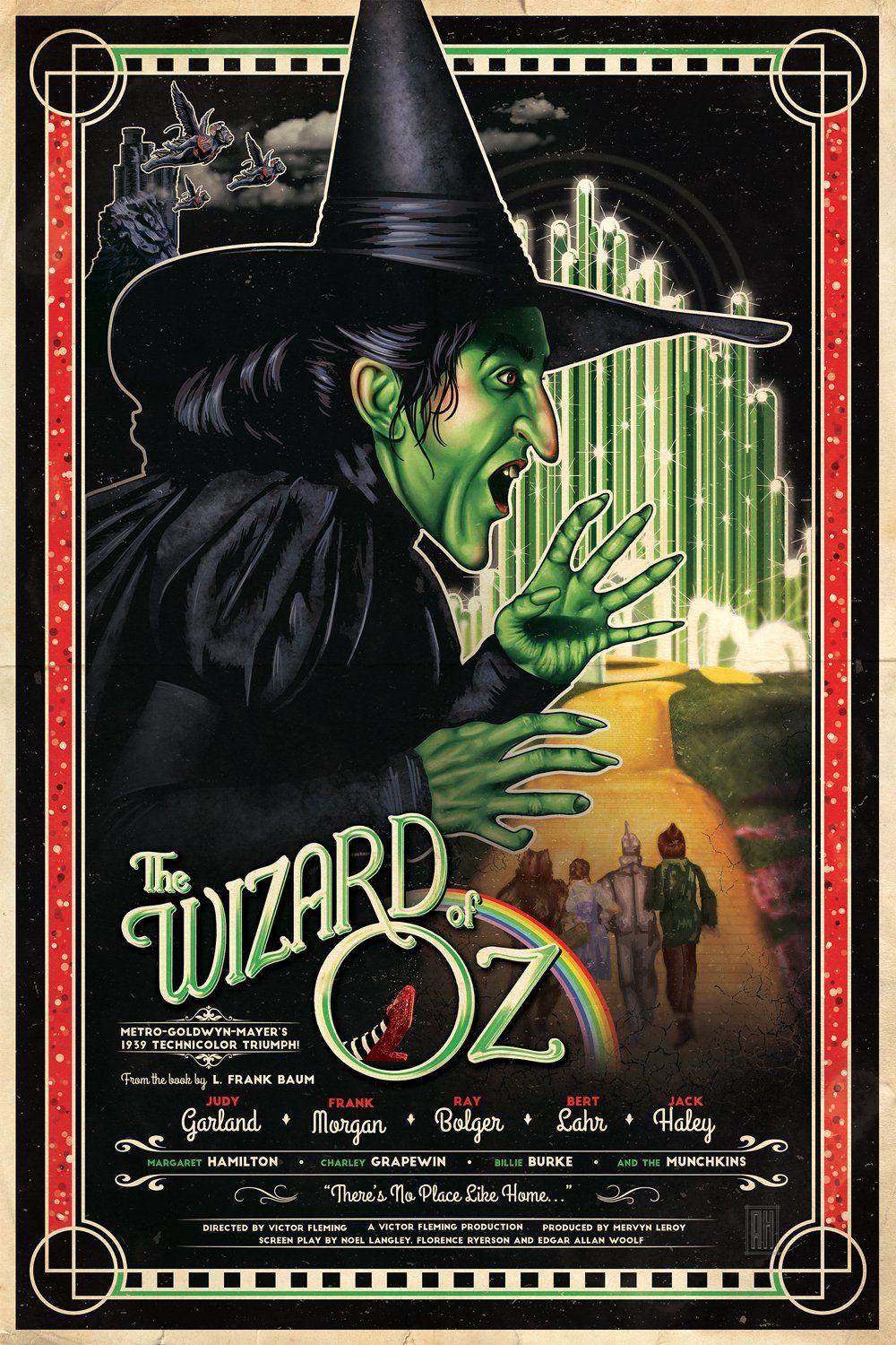 The wizard of oz 1939 hd wallpaper from movie posters pinterest movie - The wizard of oz hd ...