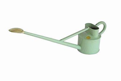 Gieter metaal 4,5l salie-groen - Buitengieters metaal - De Wiltfang