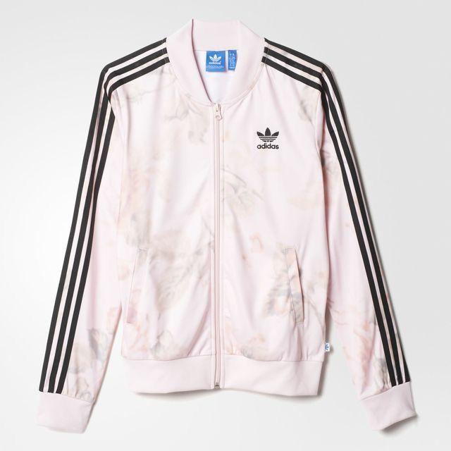 adidas Superstar Track Jacket MULTI $50.00 ❤ liked on