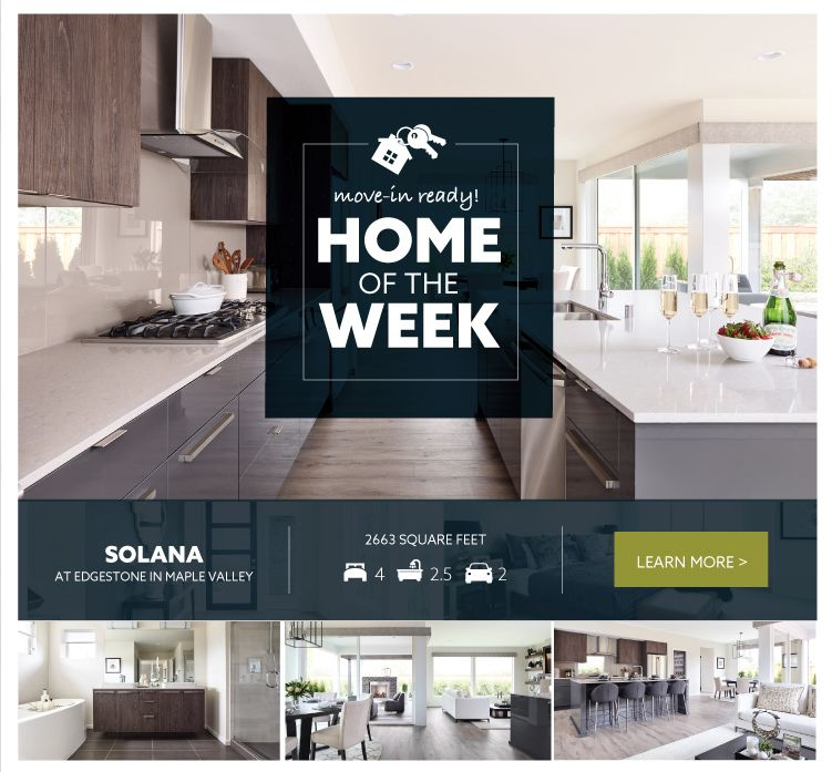 Home of the week solana new home for sale in maple