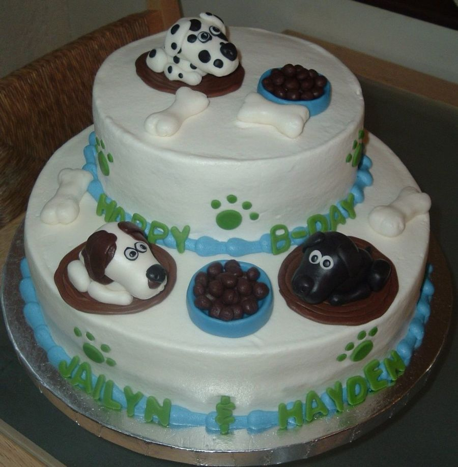 The Dog On Cake Central Dog Shaped Birthday Cakes Pinterest