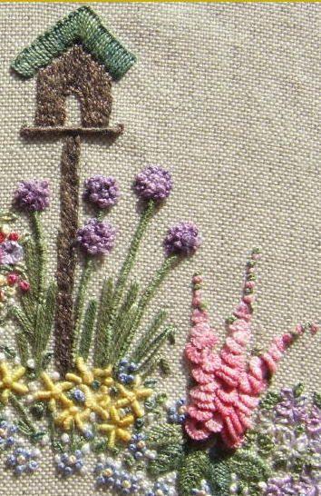 In An English Country Garden Needlecase Pattern Print Kit