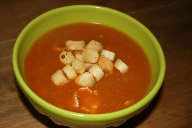 Doces Experiências: Sopa de tomate
