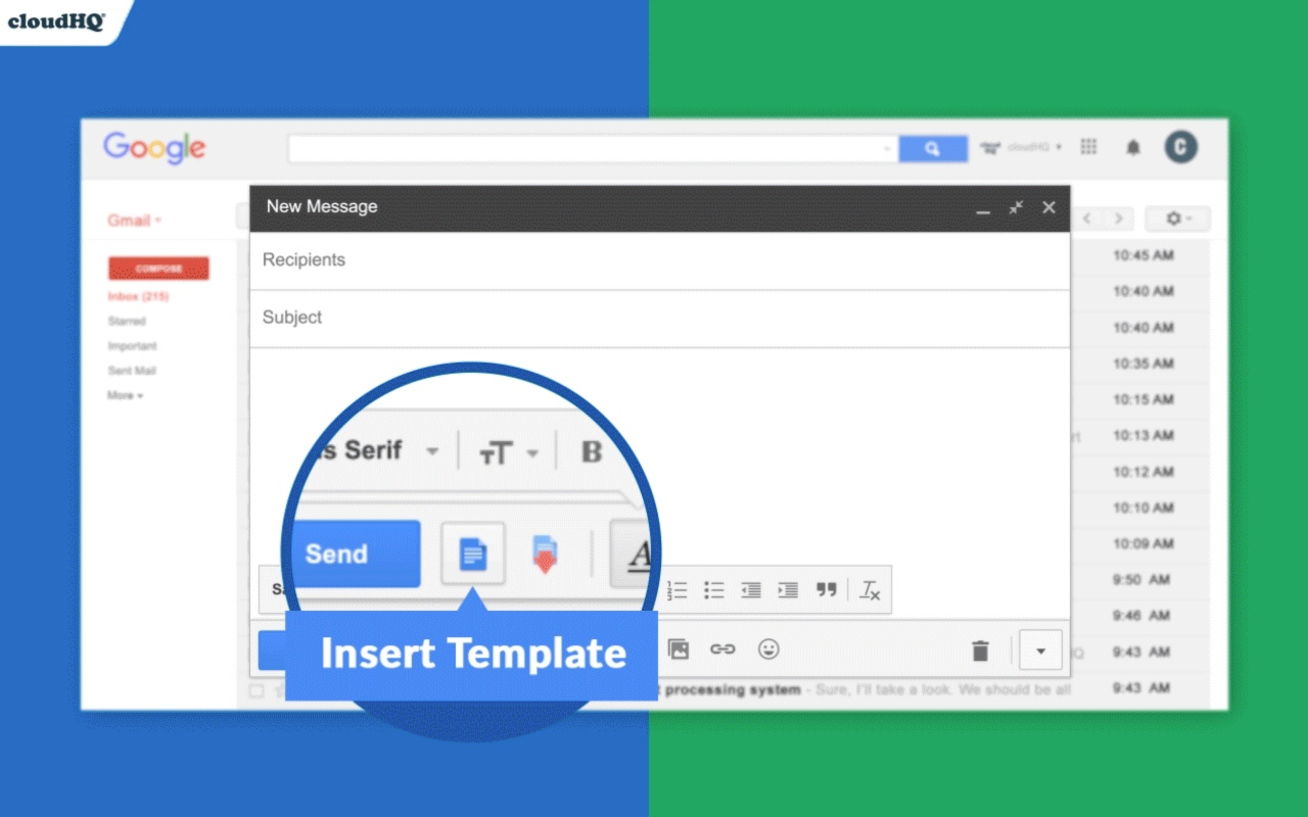 Hot new product on Product Hunt Gmail Email Templates by