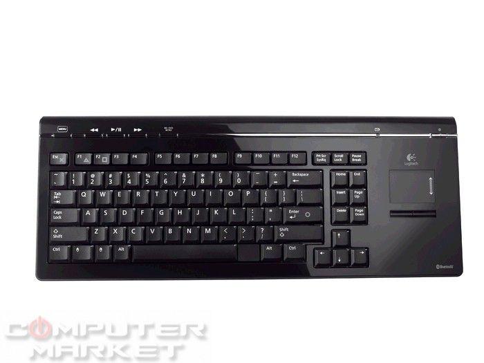 Клавиатура LOGITECH Cordless Mediaboard Pro TouchPad (с ...