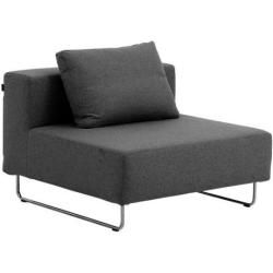 Photo of Softline Couch Elemente Ohio grau, Designer Stine Engelbrechtsen, 67x98x98 cm Softline